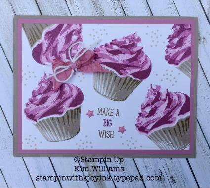 Stampin Up Sweet Cupcake Stampin With Kjoyink