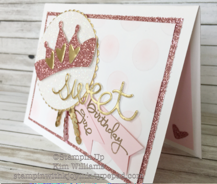 Stampin Up Biggest Birthday Ever Bling Bling Stampin With Kjoyink