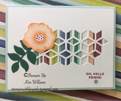 Eclectic Cafe 2017: Stampin Up Oh So Eclectic