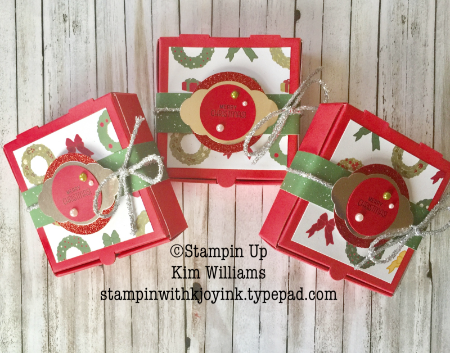 i used the christmas around the world designer paper to decorate the boxes as well as the mini tinsel trim in silver a 2 14 circle punch was used to - Christmas Around The World Decorations For A Party